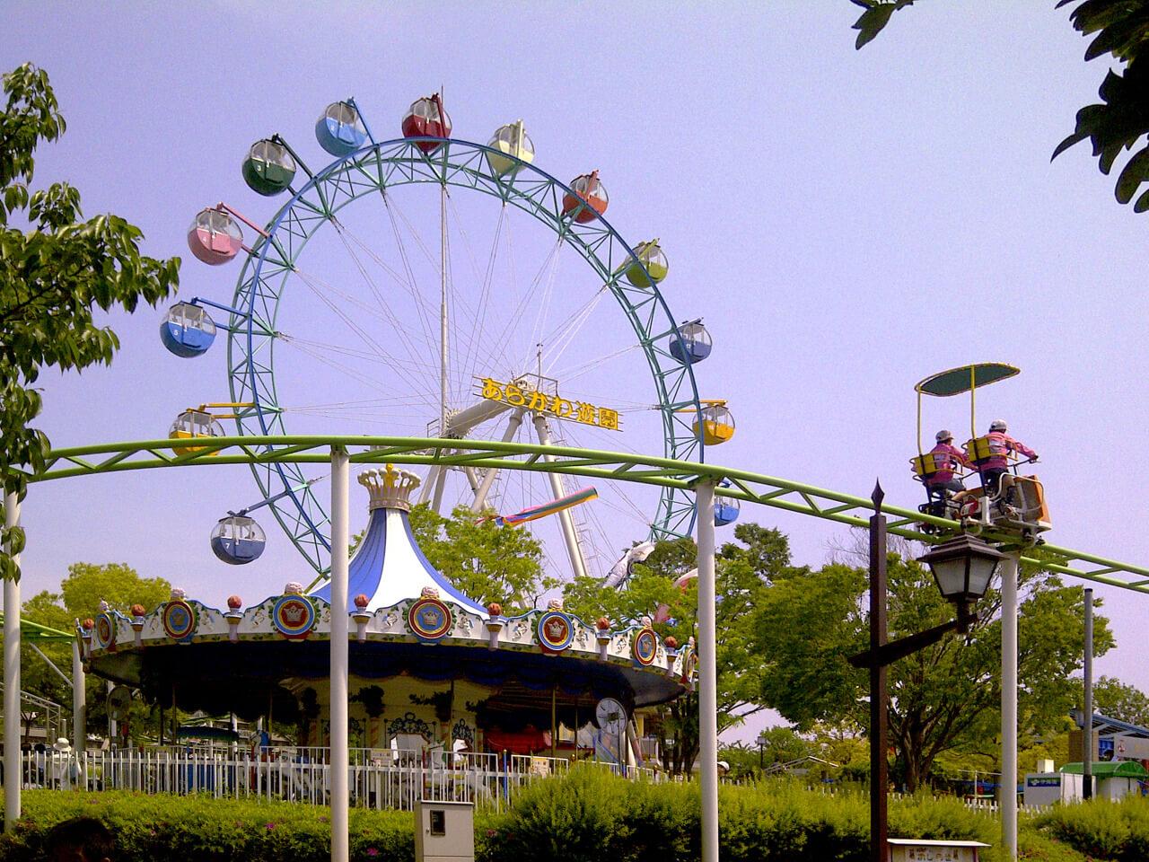 あらかわ遊園で行われた第27回川の手荒川まつり・第34回商業祭に行きました